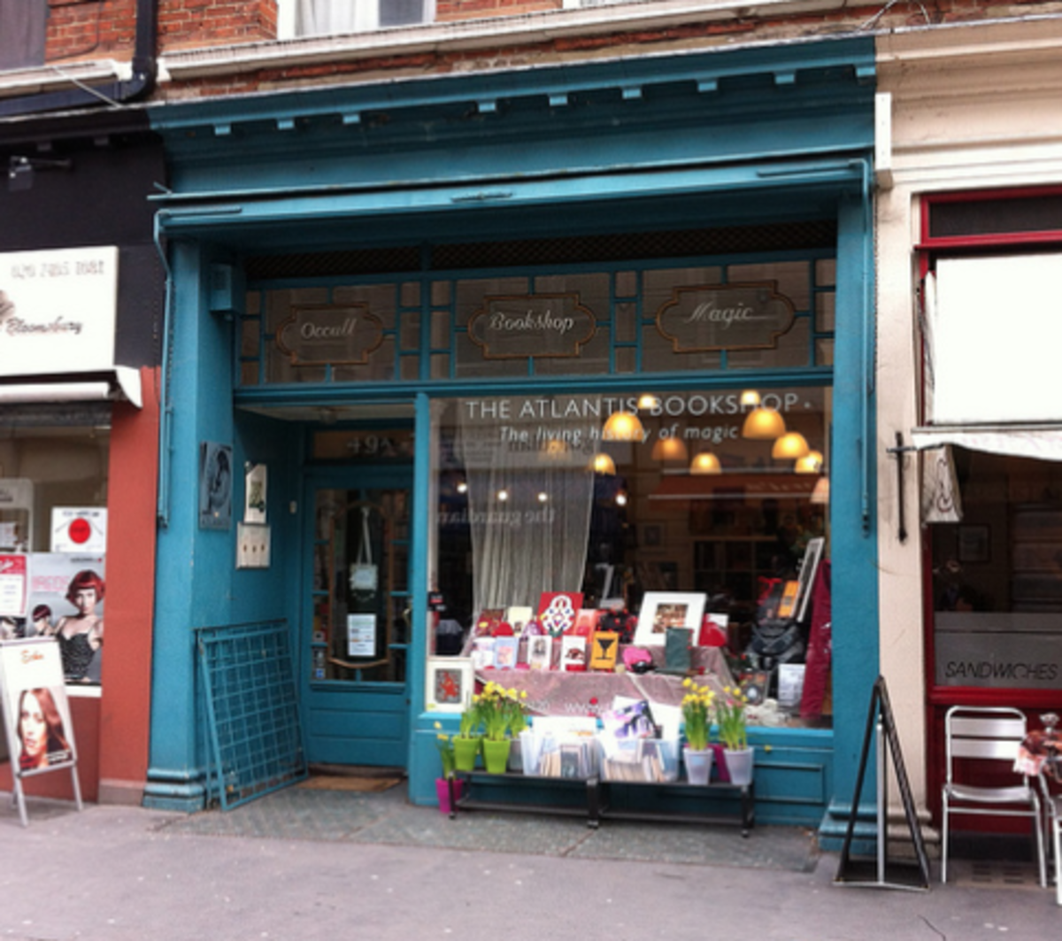 Atlantis Bookshop is a historical place for British witches.