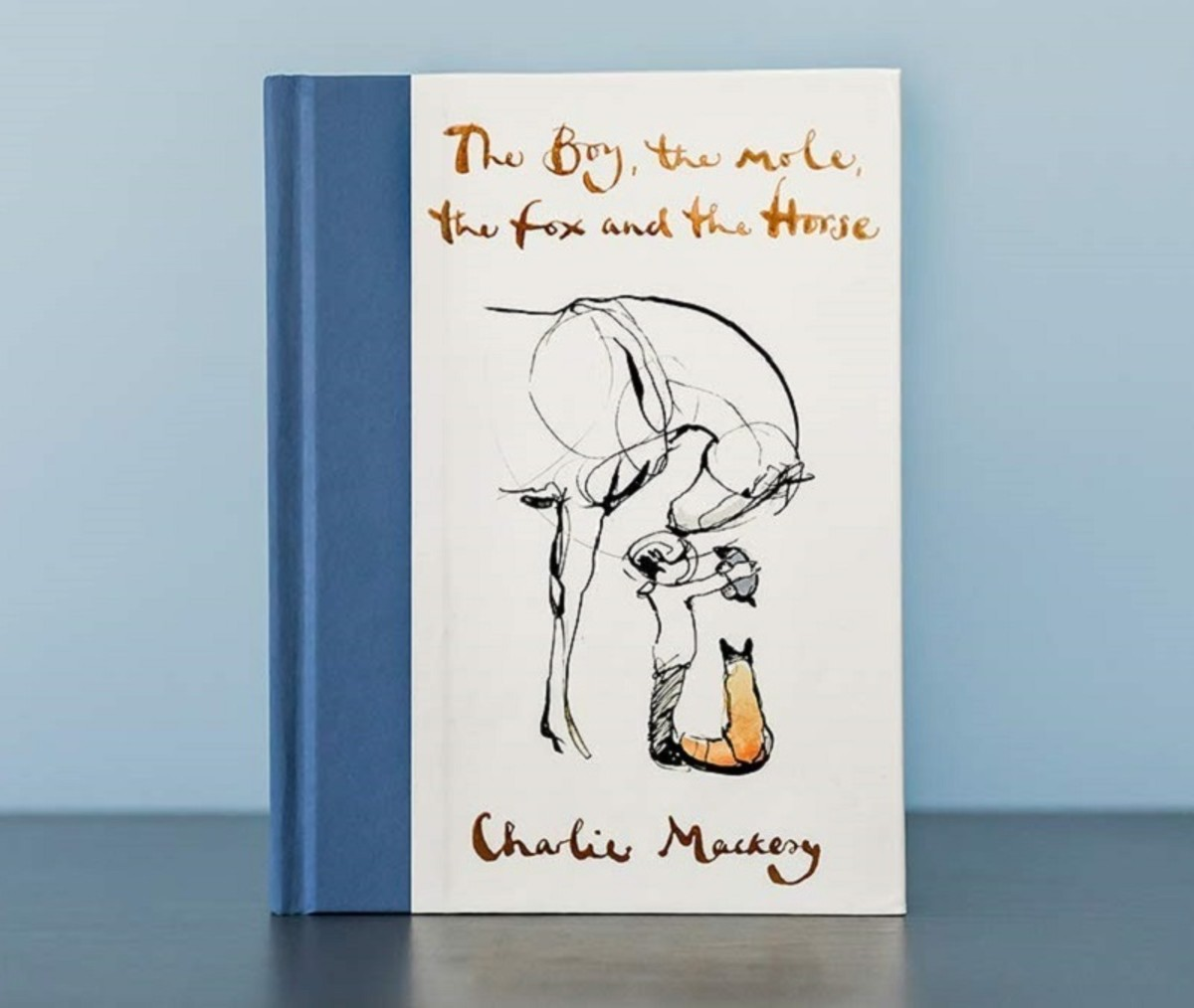 """The Boy, the Mole, the Fox and the Horse"" by Charlie Mackesy."