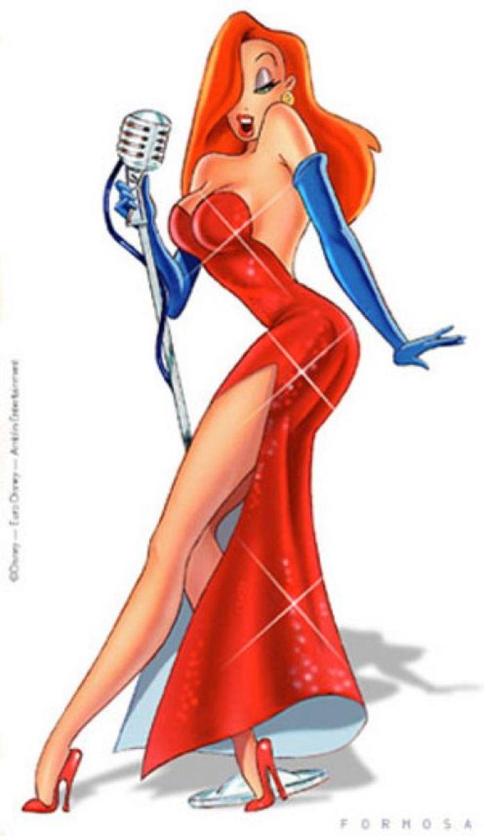 The sexy, Jessica Rabbit