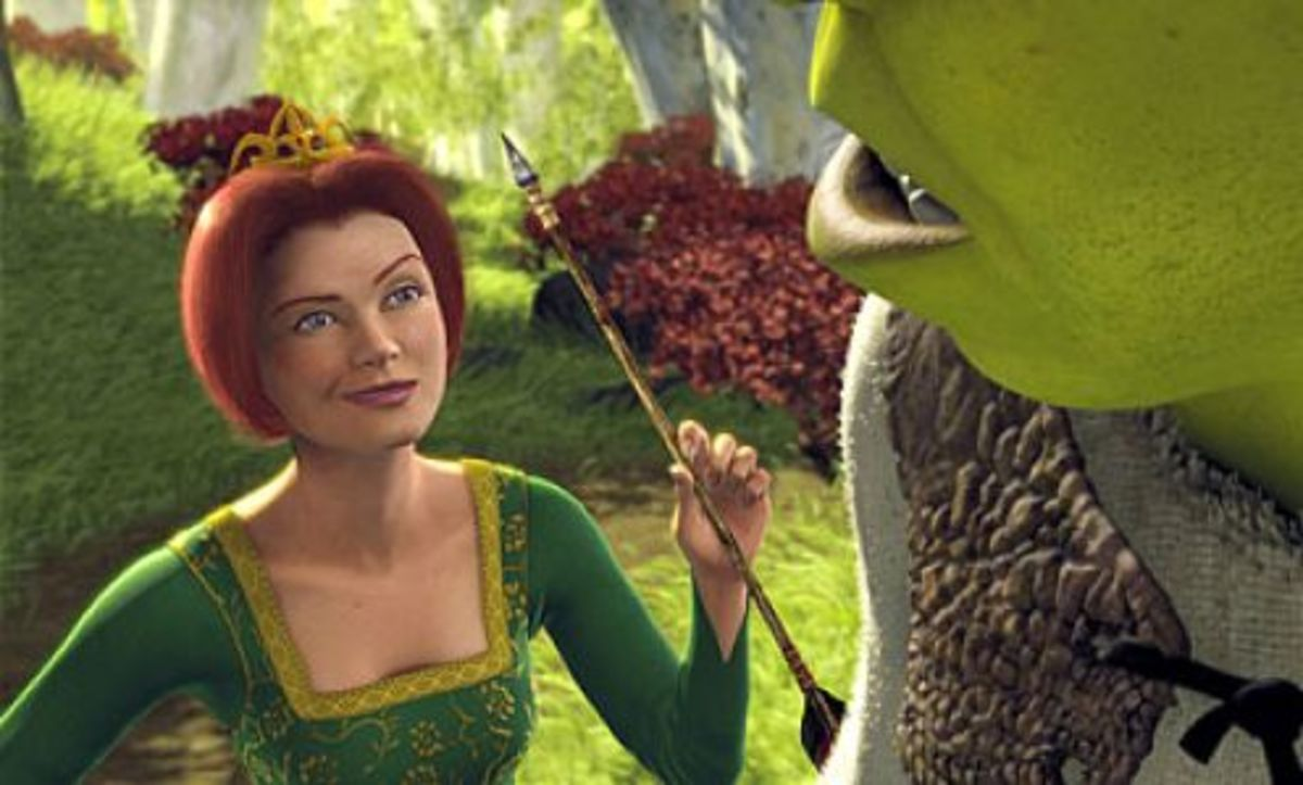 Princess Fiona comes to Shrek's rescue