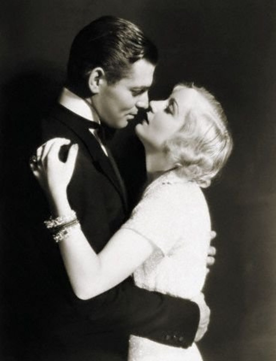 Classic Hollywood Couples - Clark Gable and Carole Lombard
