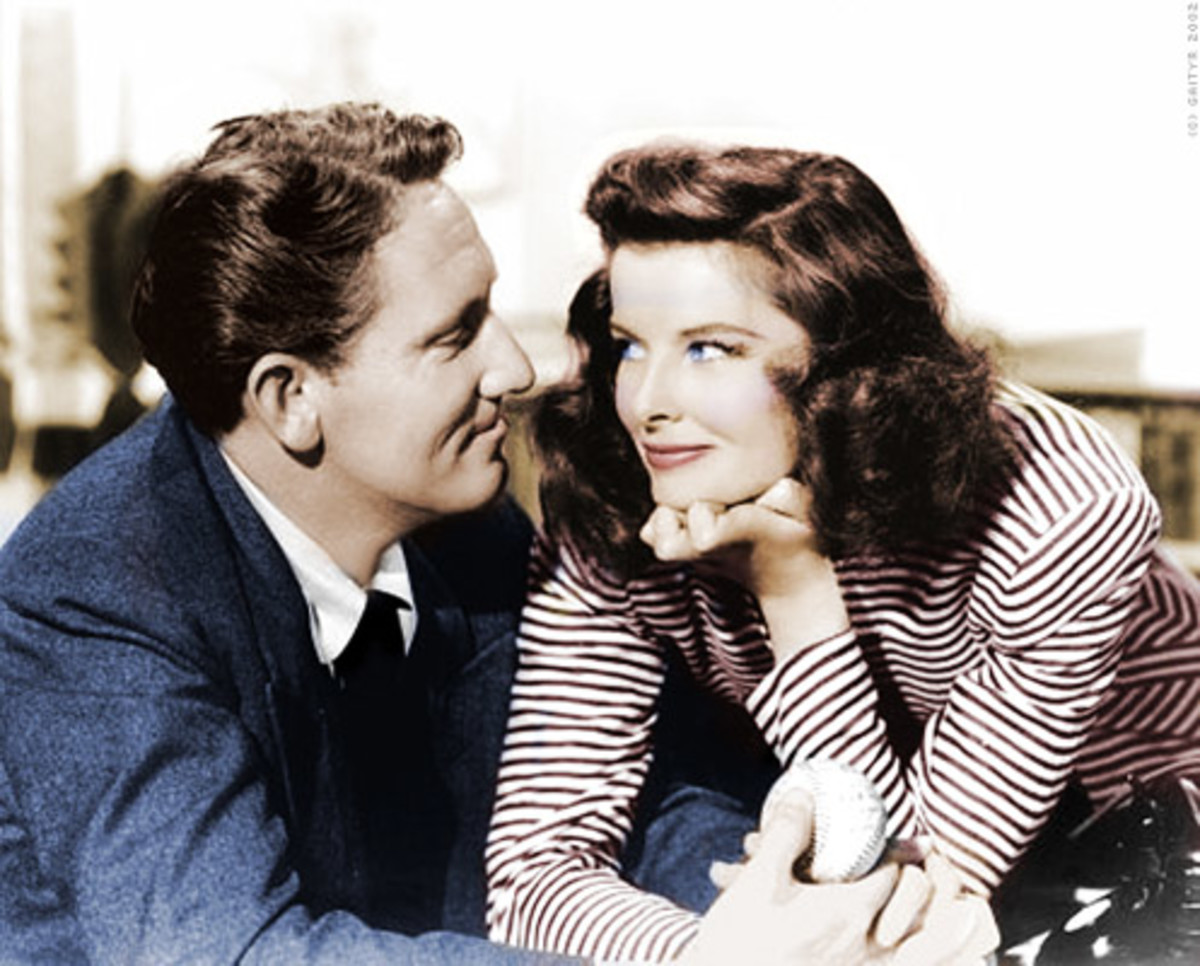 Classic Hollywood Couples - Spencer Tracy and Katherine Hepburn