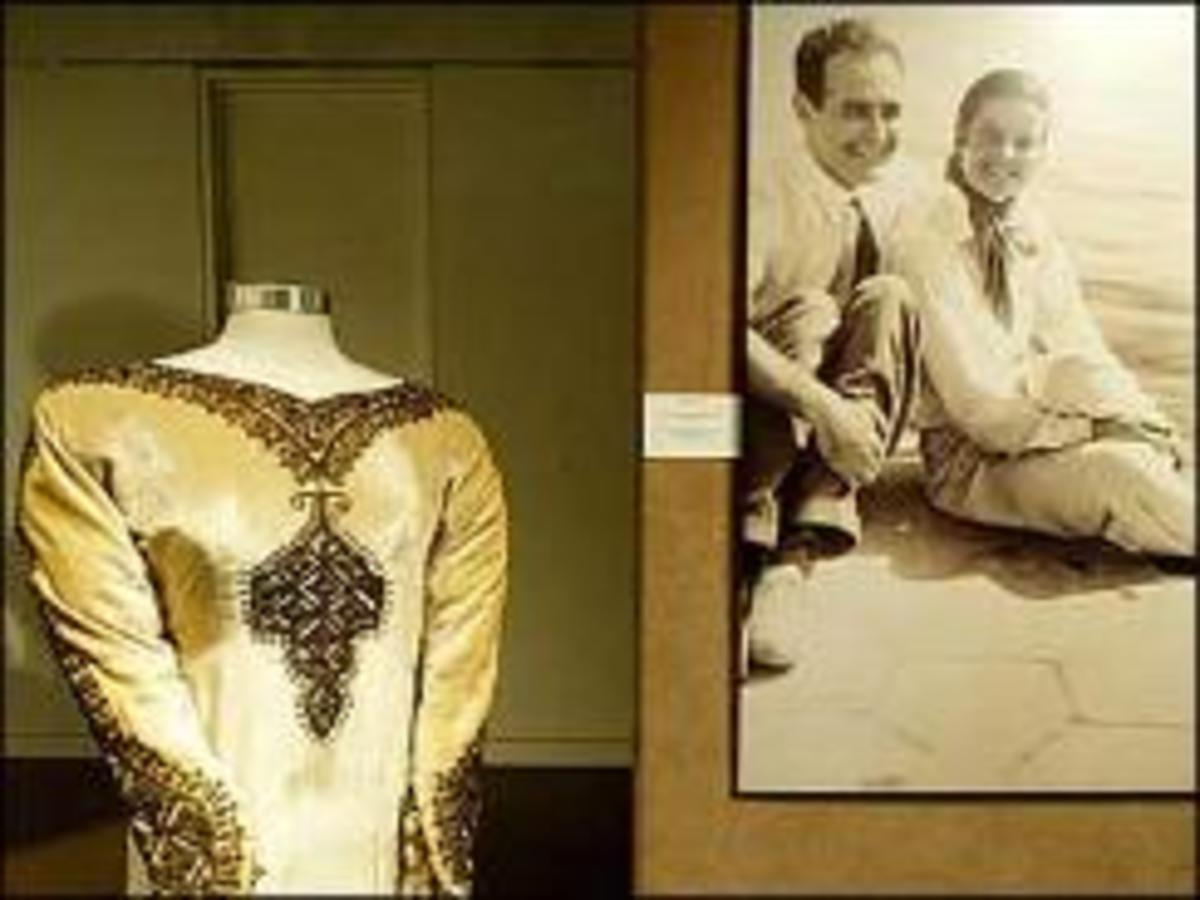 The bridal gown from Hepburn's short-lived marriage fetched $27,000 at auction.
