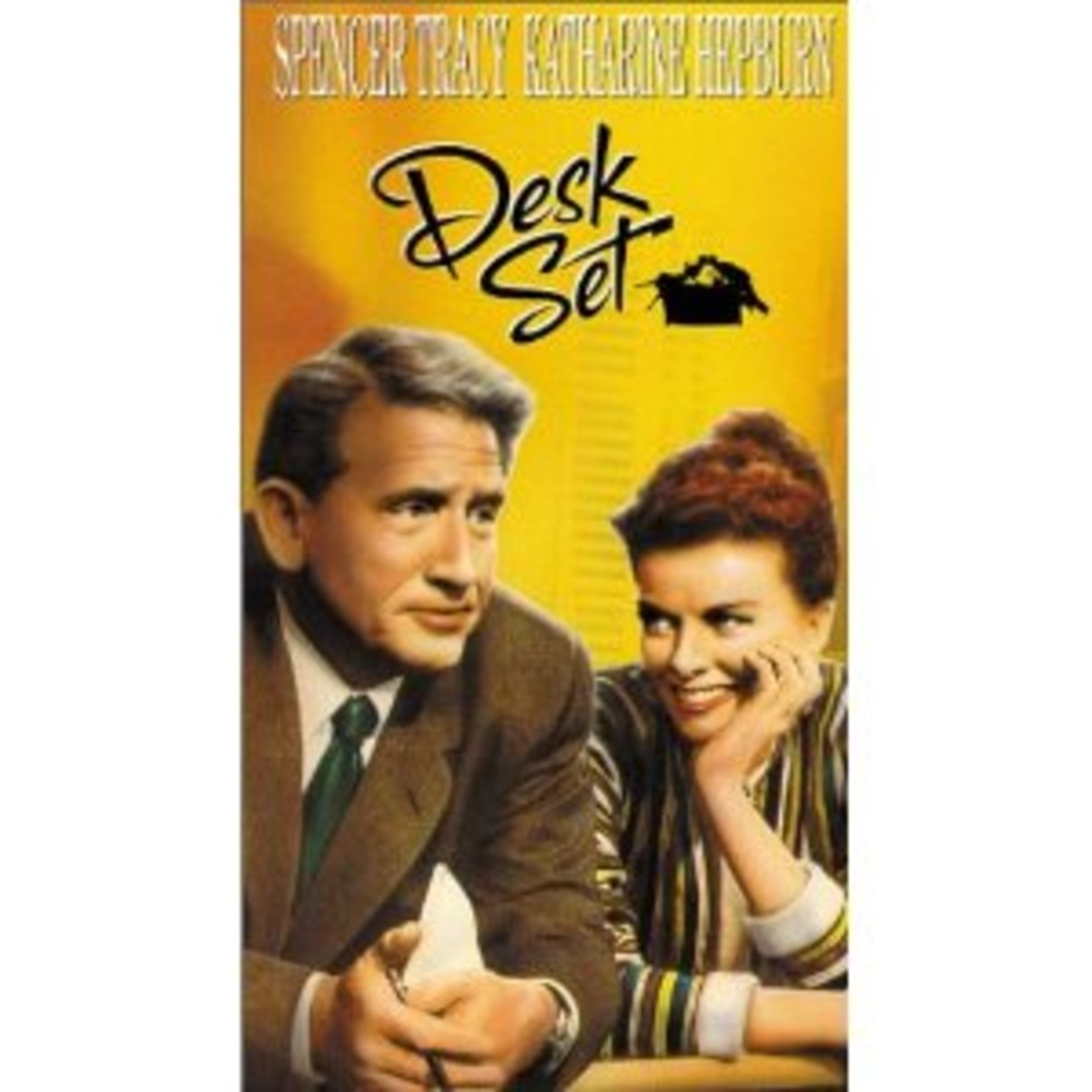 """""""Desk Set"""" was one of Hepburn and Tracy's classic films together."""