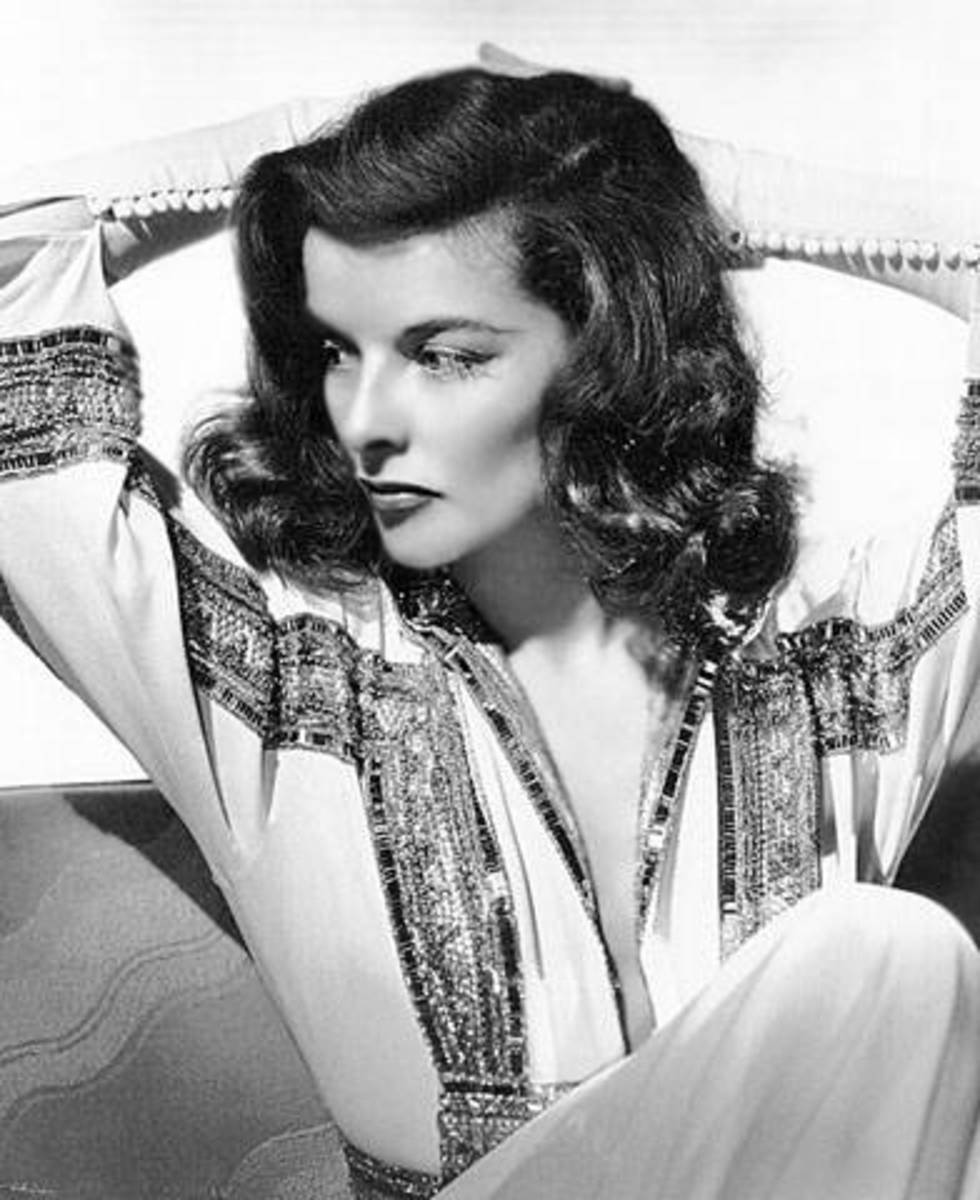 Katharine Hepburn had a seemingly effortless grace.
