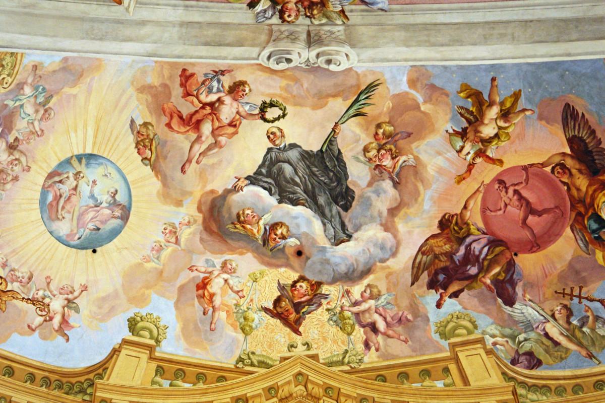 The Triumph of the Monk by Johann Michael Rottmayr