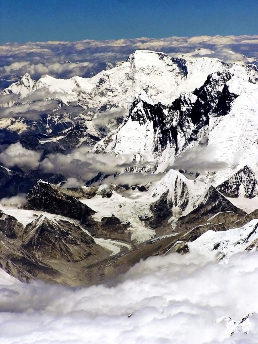 Himalayas near Tibet