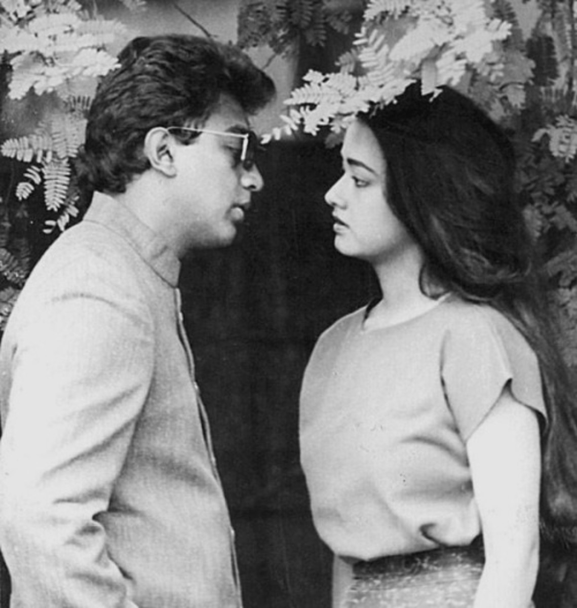 Kamal Hasan with Amala