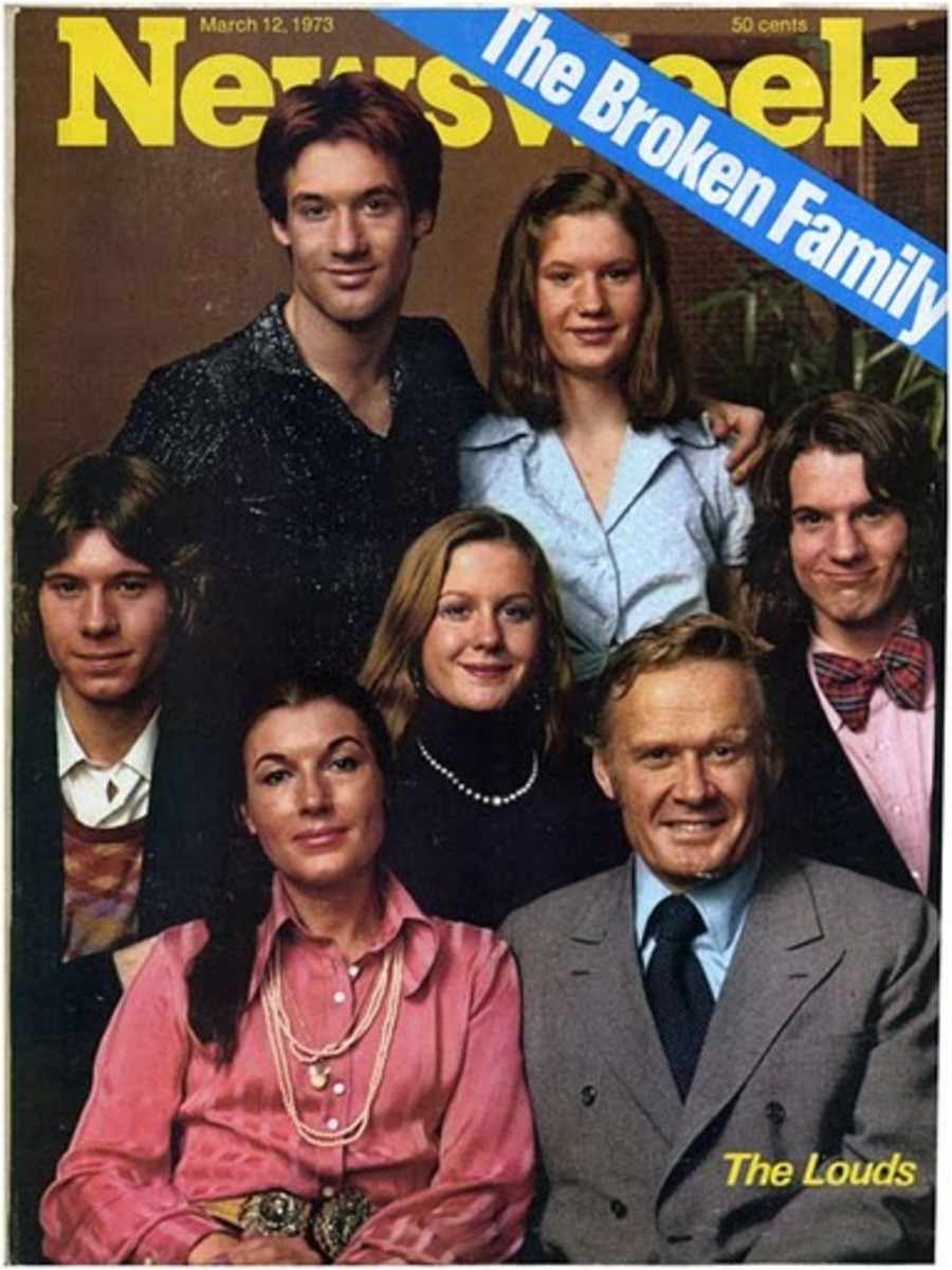 """The Loud Family from the True First Reality TV Show """"An American Family"""" (1973)"""