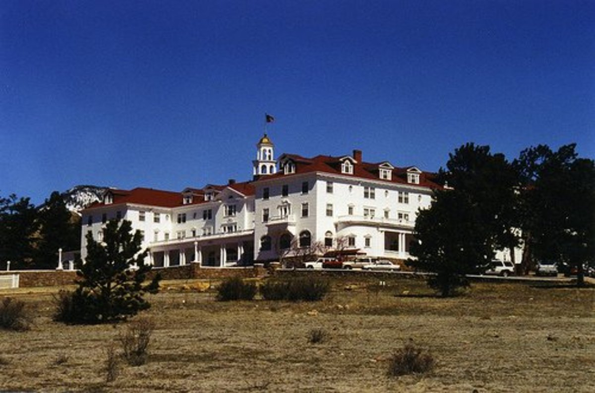 "The Stanley Hotel, inspiration for ""The Shining"""