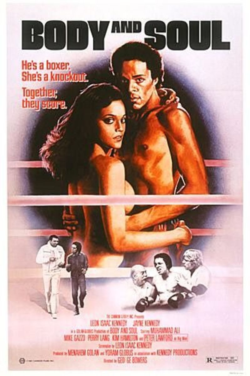 """Body & Soul"" was a movie she made with her first husband, Leon Isaac Kennedy"