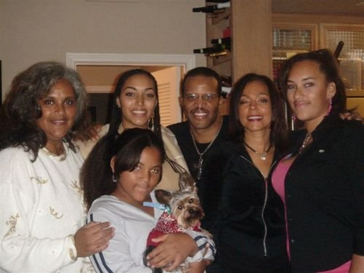 Jayne Kennedy Overton, Bill Overton, and their Beautiful Family Today