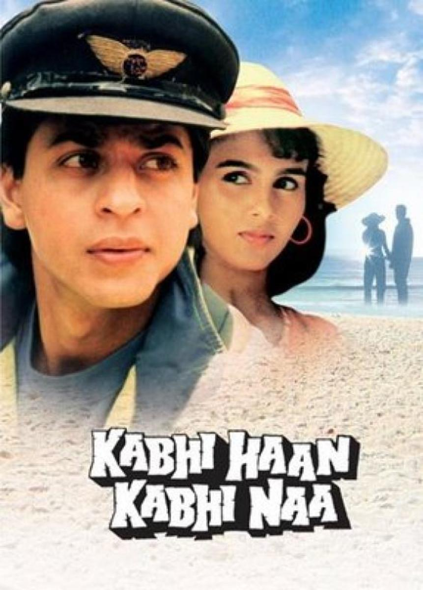 Original cover poster of Kabhi Haa Kabhi Naa