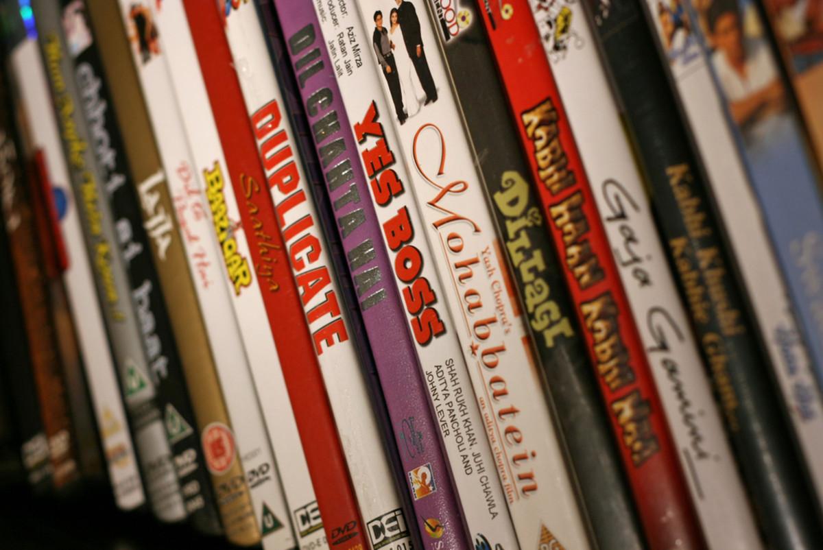 Bollywood Shelf