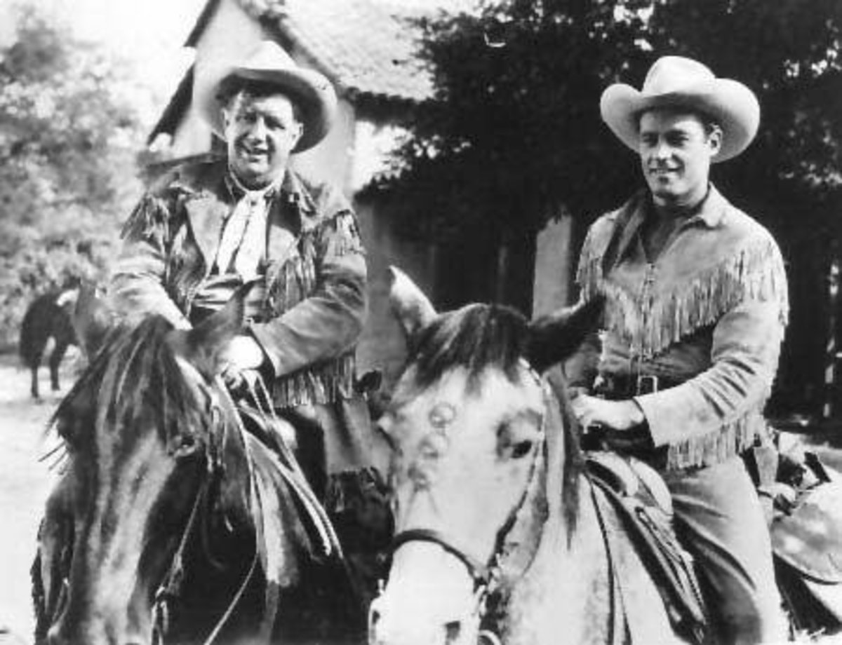 Horses That Old Western Stars of B-Films and Their Sidekicks