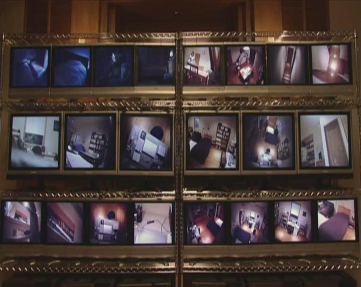 Even when L says there is only a 5% chance that Light is Kira, he fills the Yagami house with cameras.