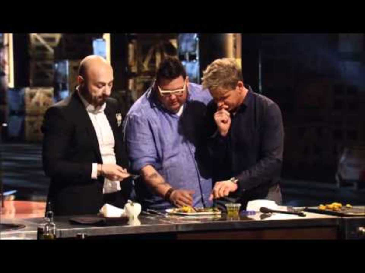 Screenshot of MasterChef US Judges