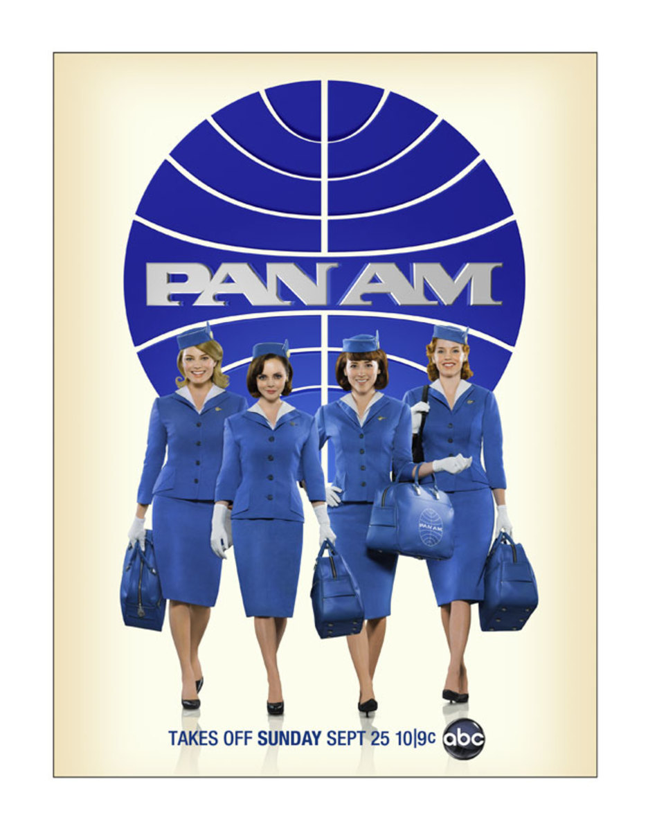 The golden age of flight returns with PAN AM.