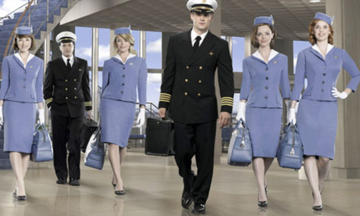 The cast of PAN AM.