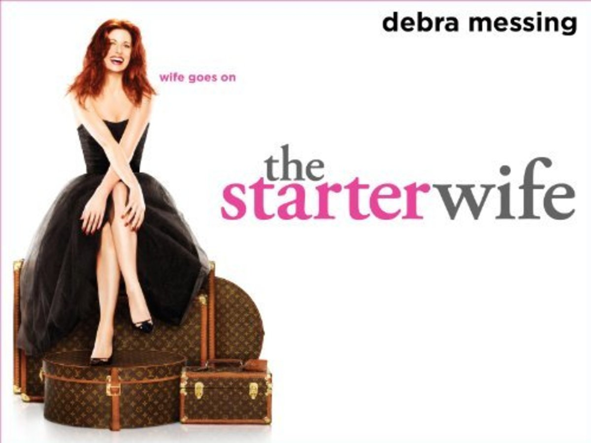 The Starter Wife is the only cable series listed here.