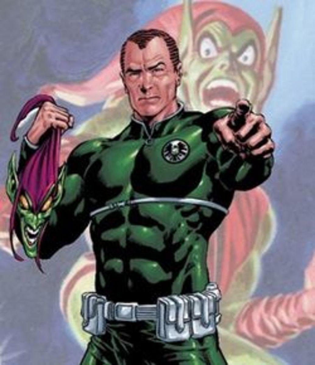 Norman Osborn, aka The Green Goblin and Former Head of Hammer