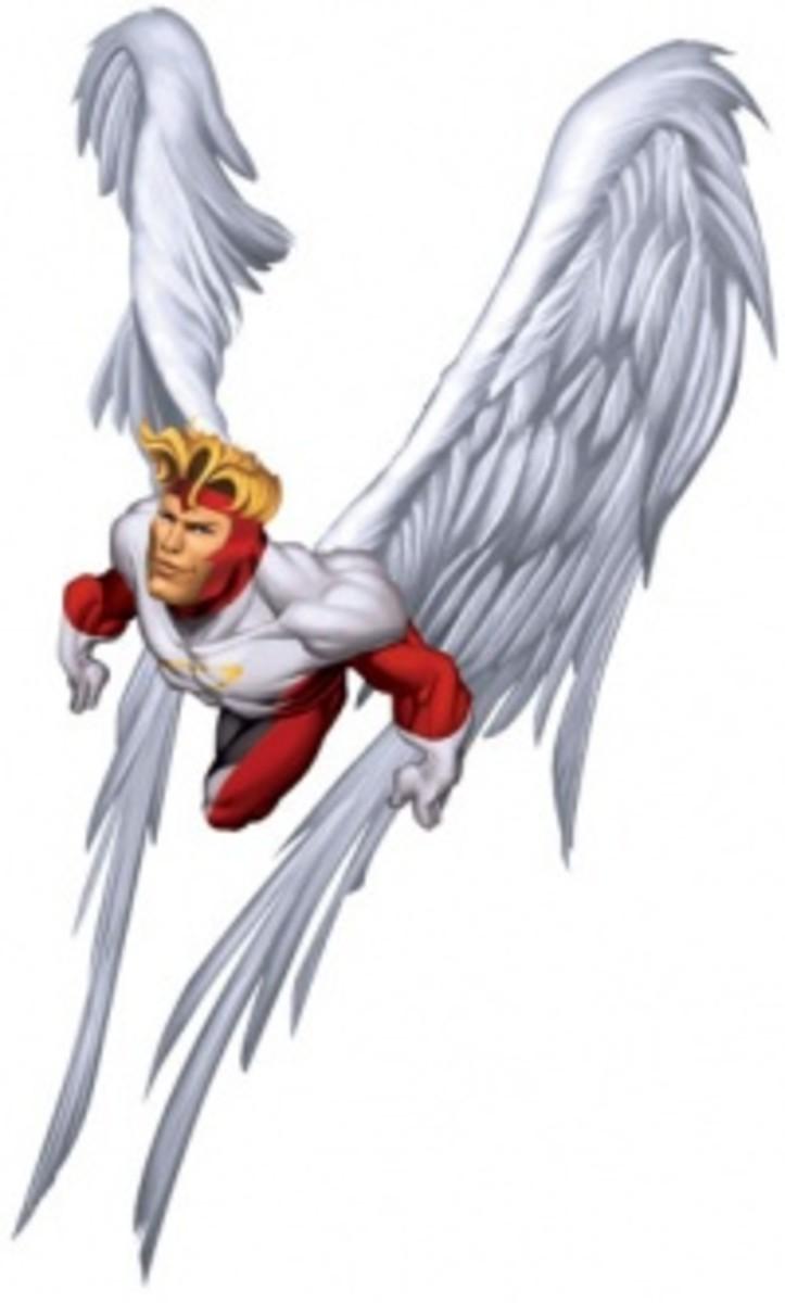 The Angel (or Archangel), aka Warren Worthington III