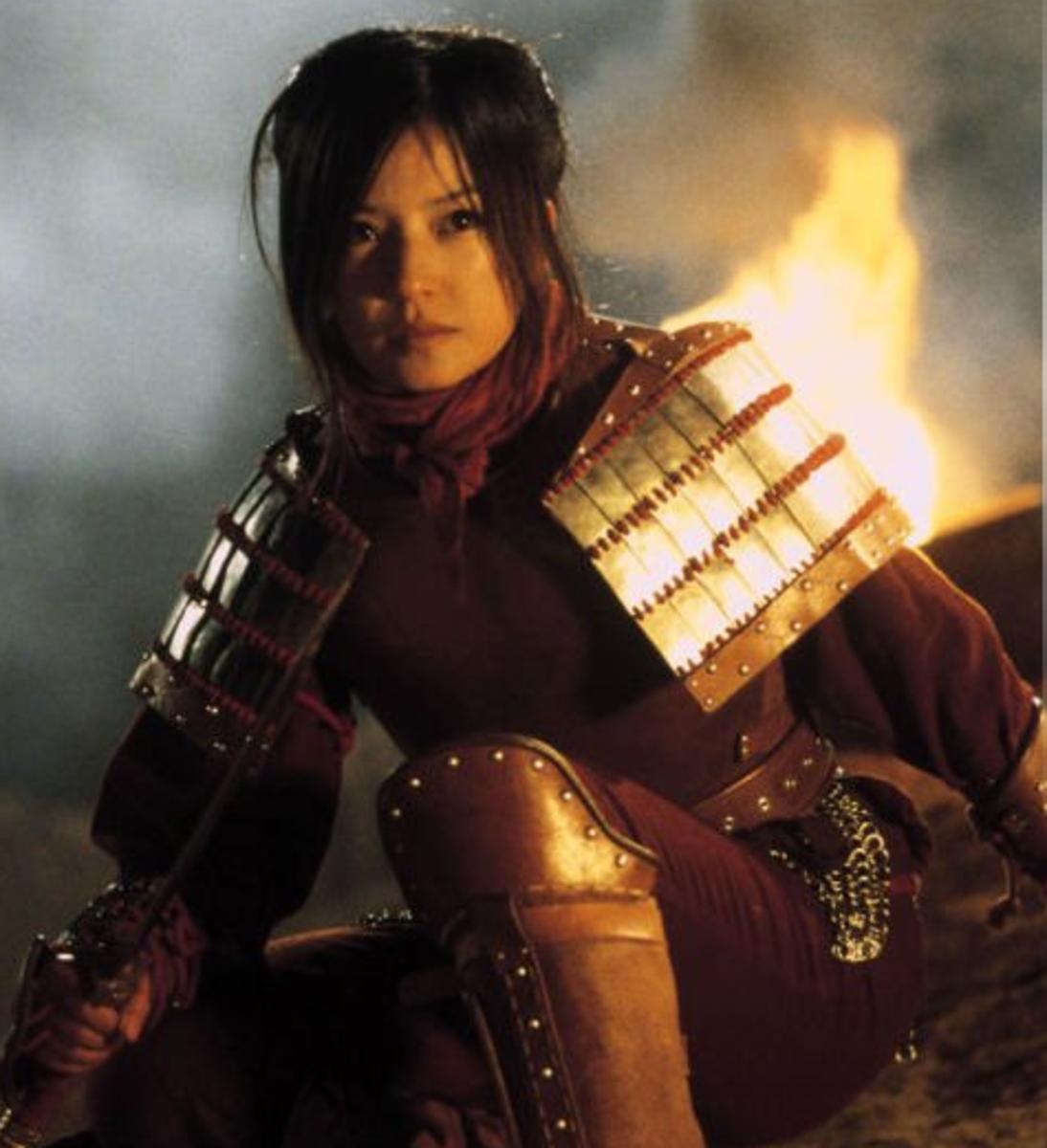 Wei Zhao as Mulan