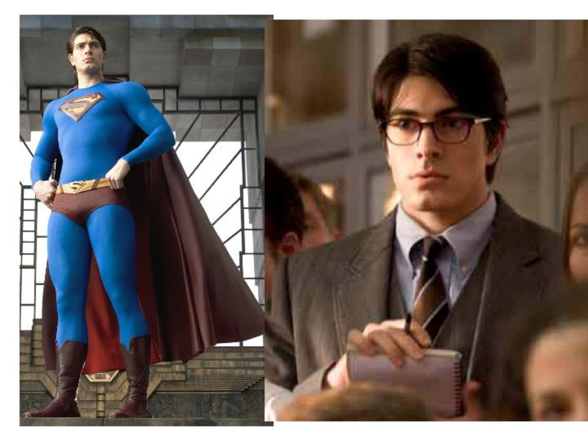 Brandon Routh as Superman, Clark Kent