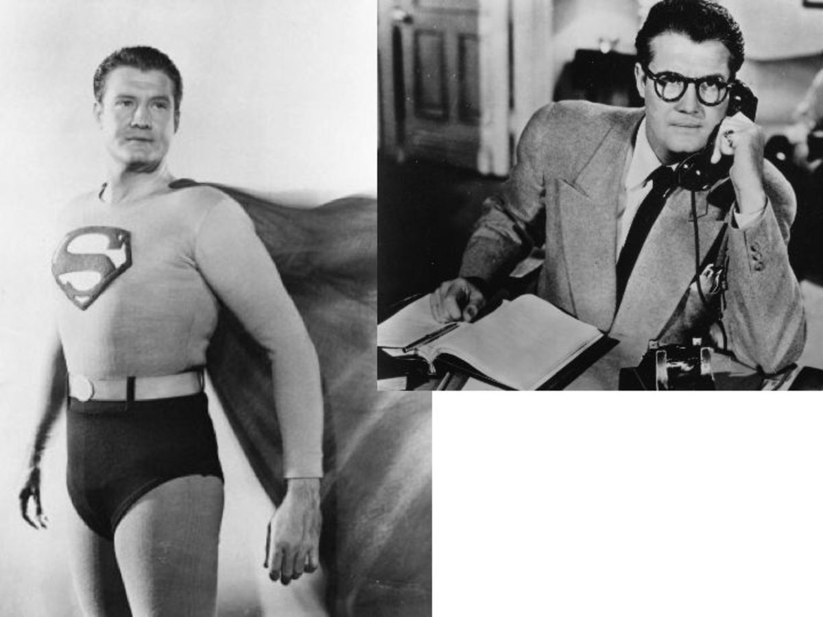 George Reeves as Superman, Clark Kent