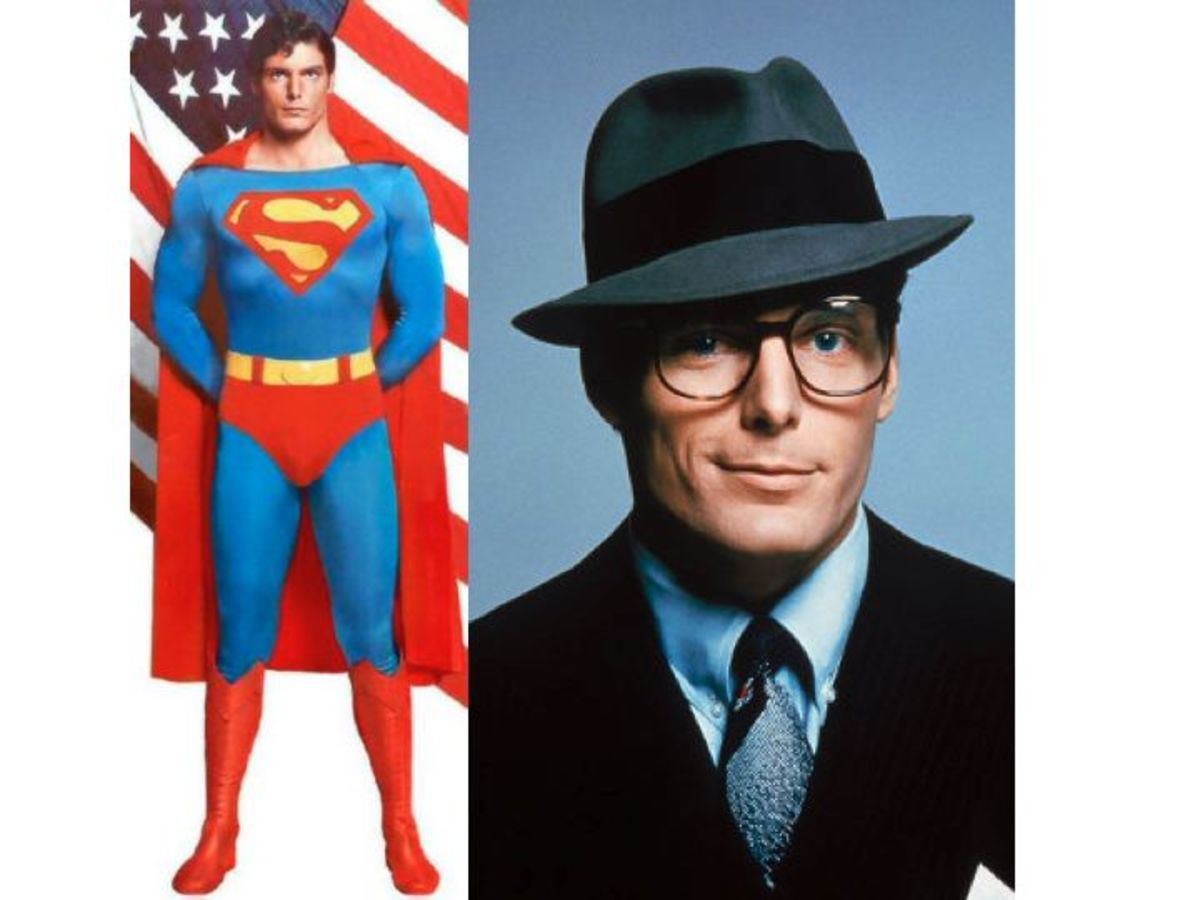 Christopher Reeve as Superman, Clark Kent