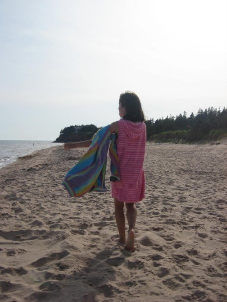 PEI is a wonderful vacation spot for families with kids.