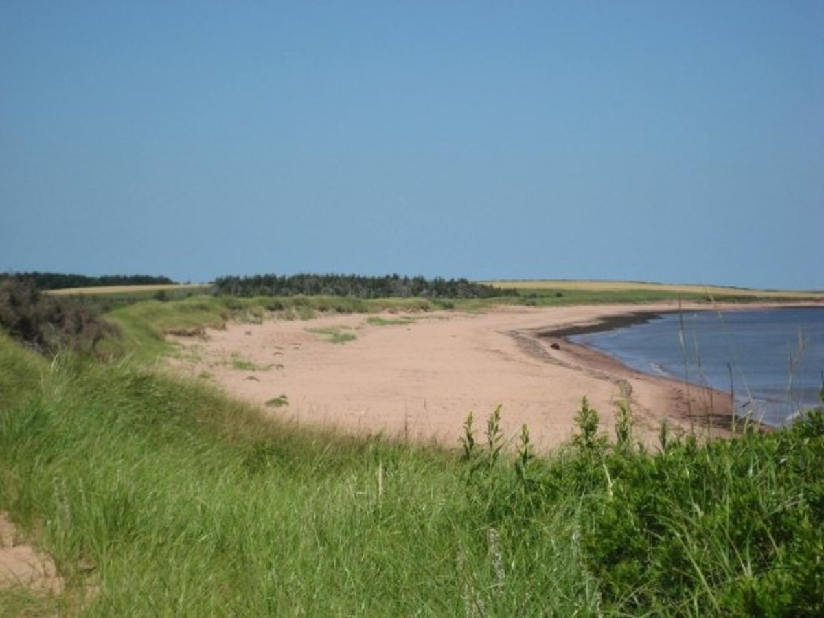 Beach at East Point, PEI