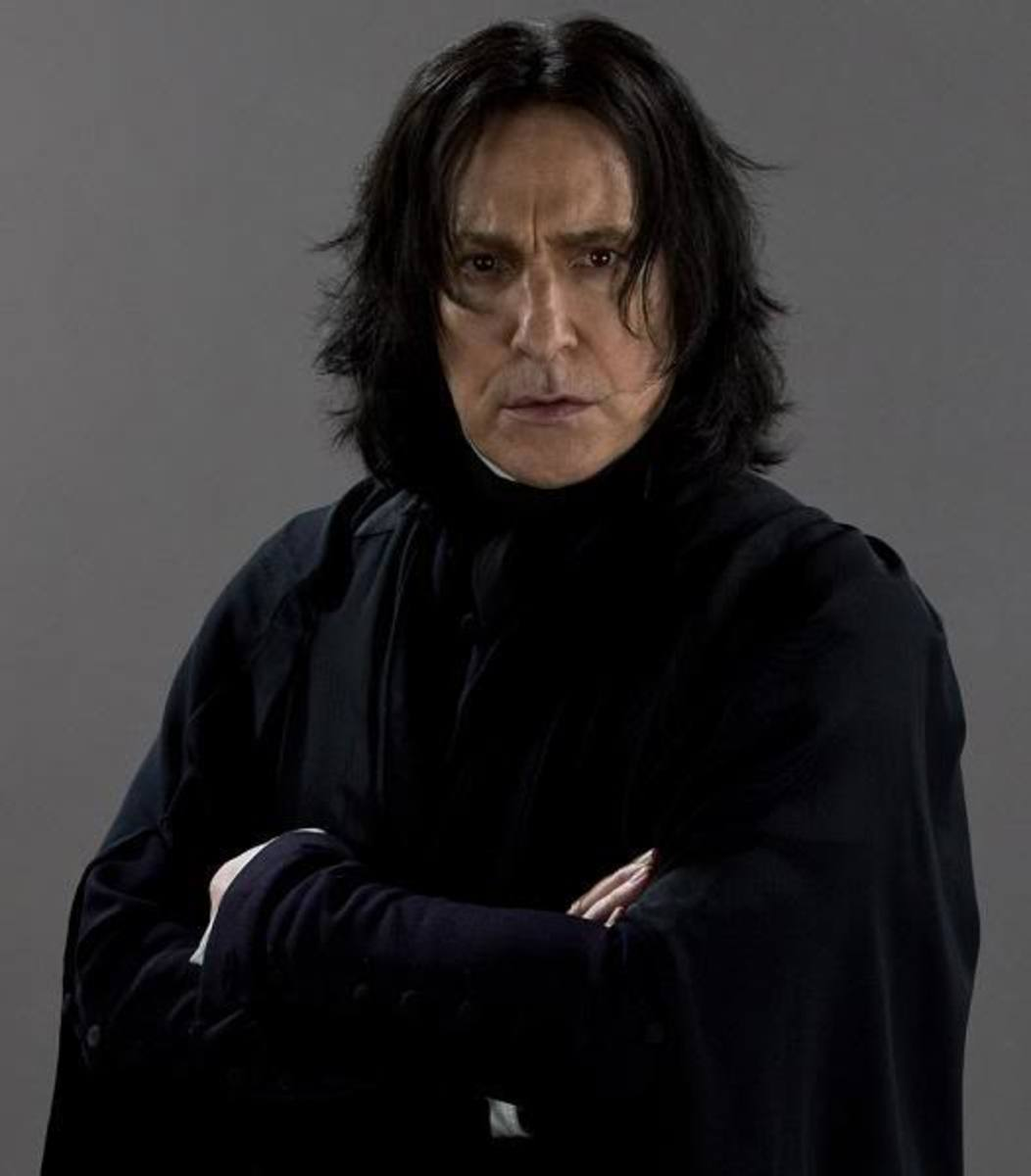 Though Alan Rickman had a long and wonderful career in Hollywood, we'll always remember and love him as Severus Snape.