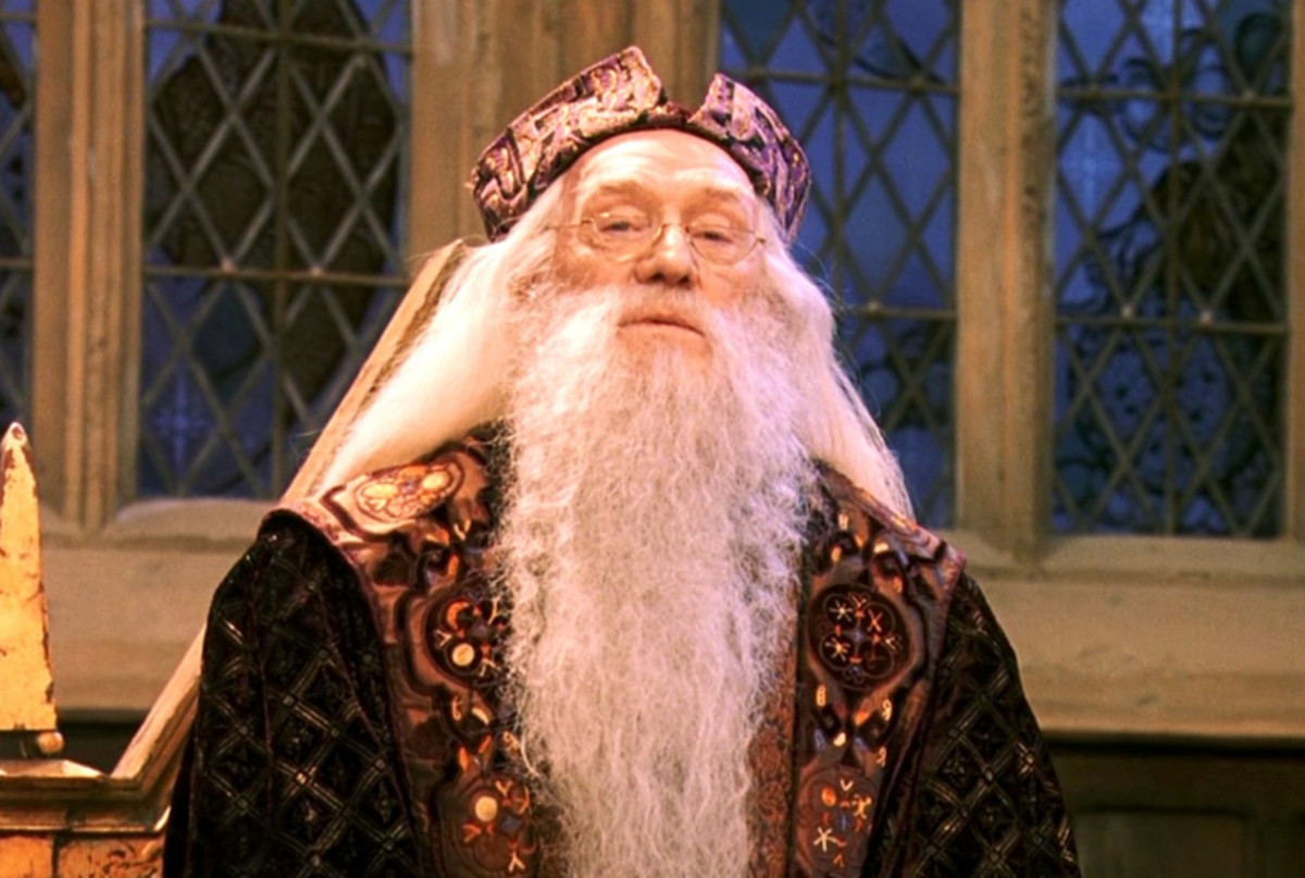 Some fans still argue that Richard Harris played the best version of Dumbledore. I personally preferred Harris' portrayal.