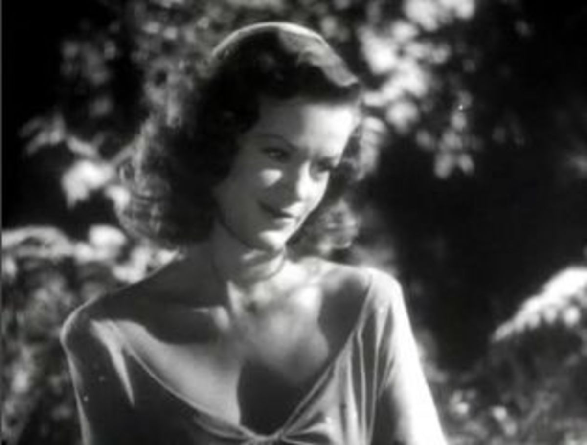 "Simone Simon in ""The Curse of the Cat People"""