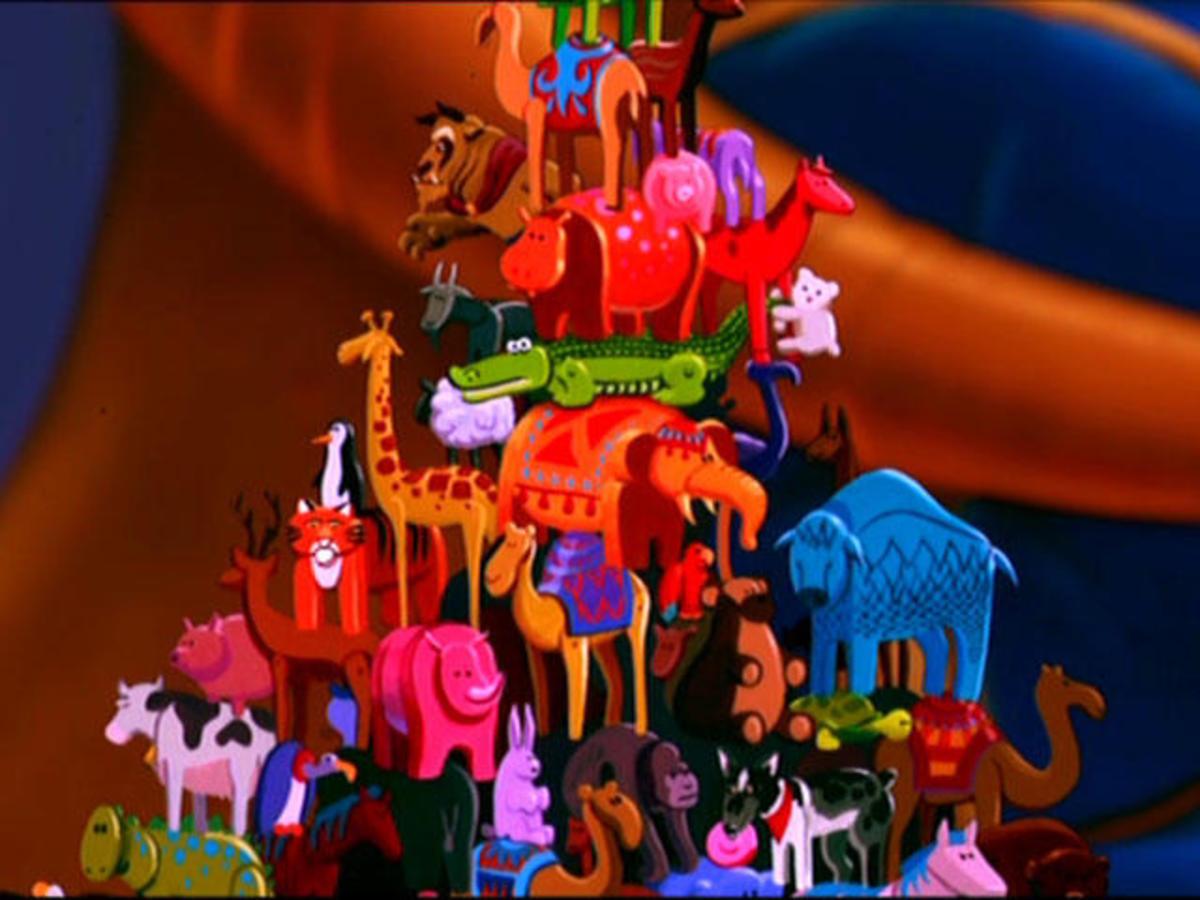 Hidden Images In Disneys Aladdin Reelrundown