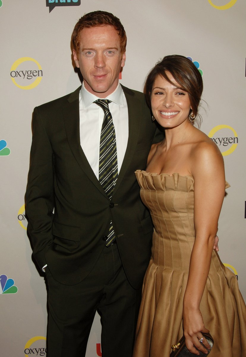 The stars of 'Life' Damian Lewis & Sarah Shahi