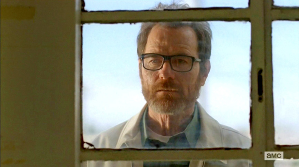 Walter White...aka Heisenberg, in his final hours.