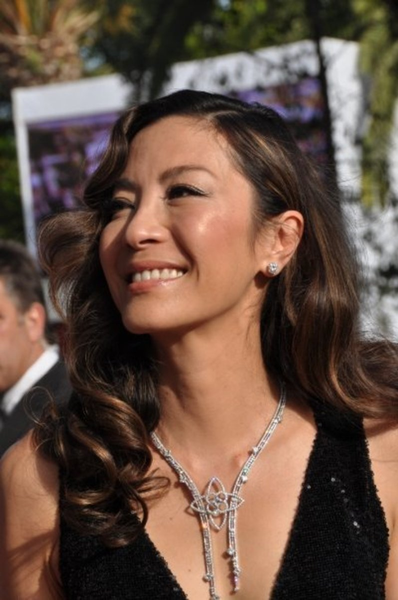 Michelle Yeoh, gorgeous at age 50.