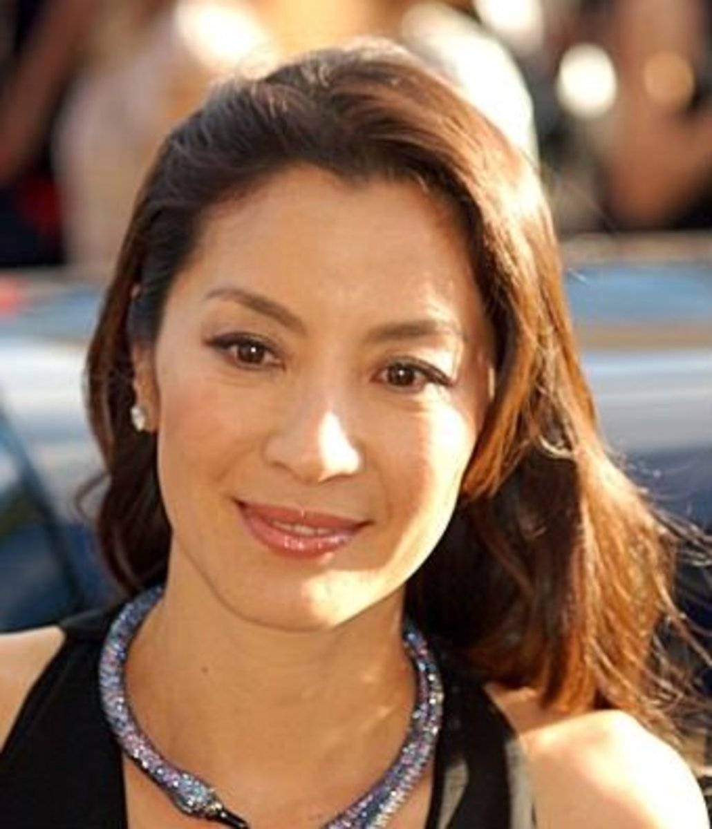 Michelle Yeoh at Cannes in 2007.