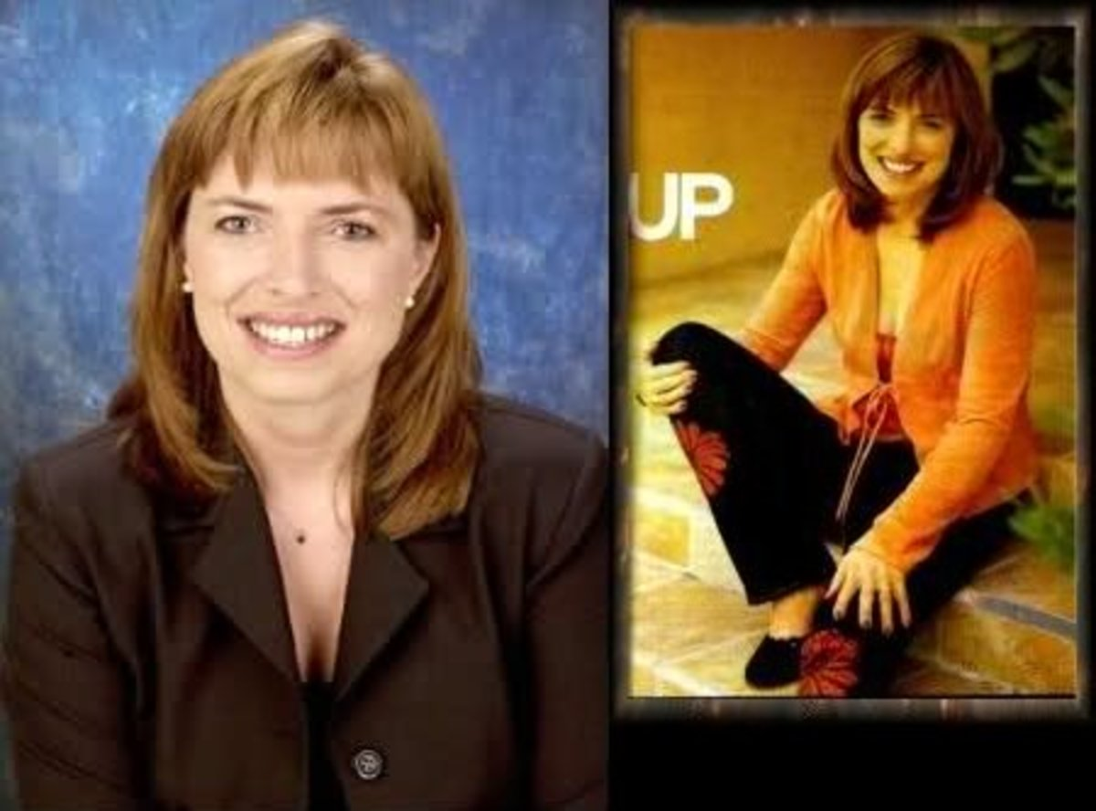 Karen Fowler; then and now