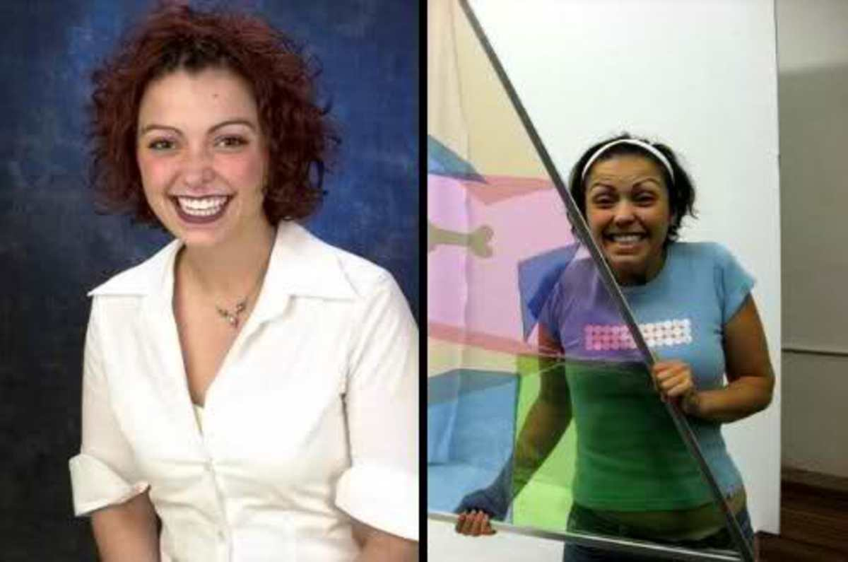 Brittany Petros; then and now