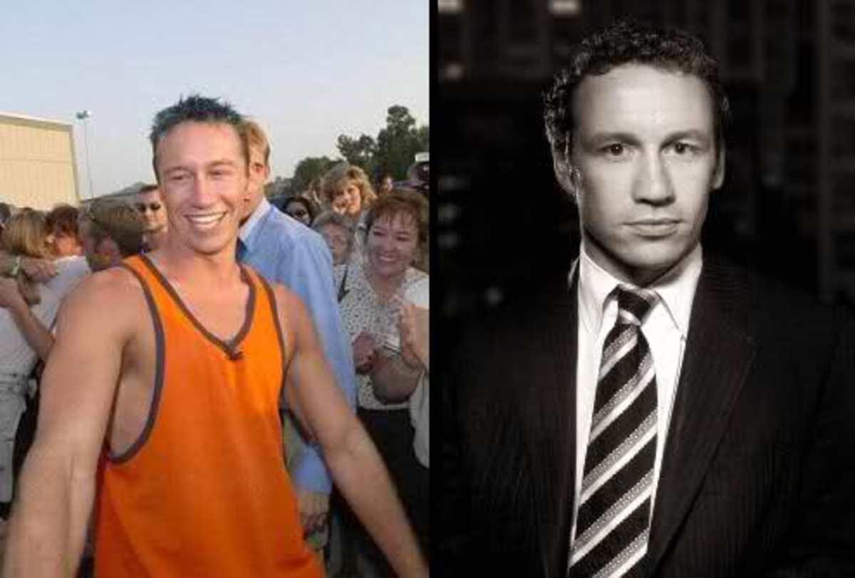 Josh Souza; then and now