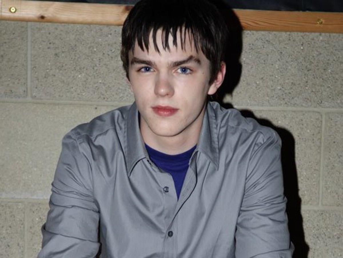 Nicholas on Skins in 2007.