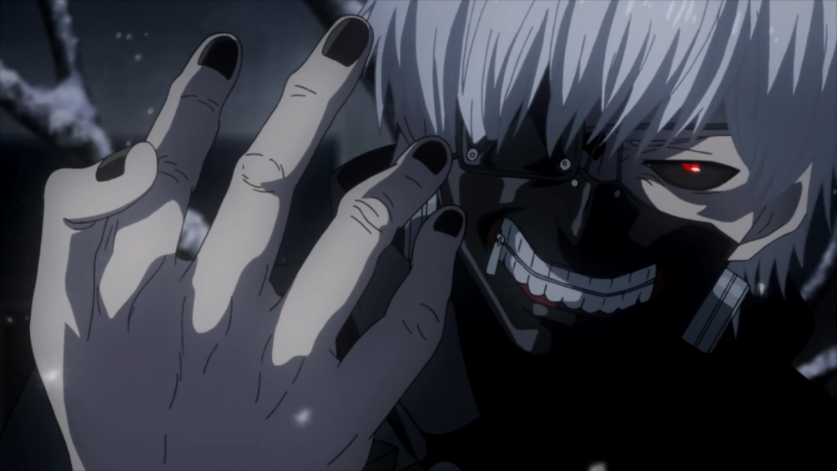 "Kaneki Ken must navigate his new identity as a half-ghoul in ""Tokyo Ghoul""."