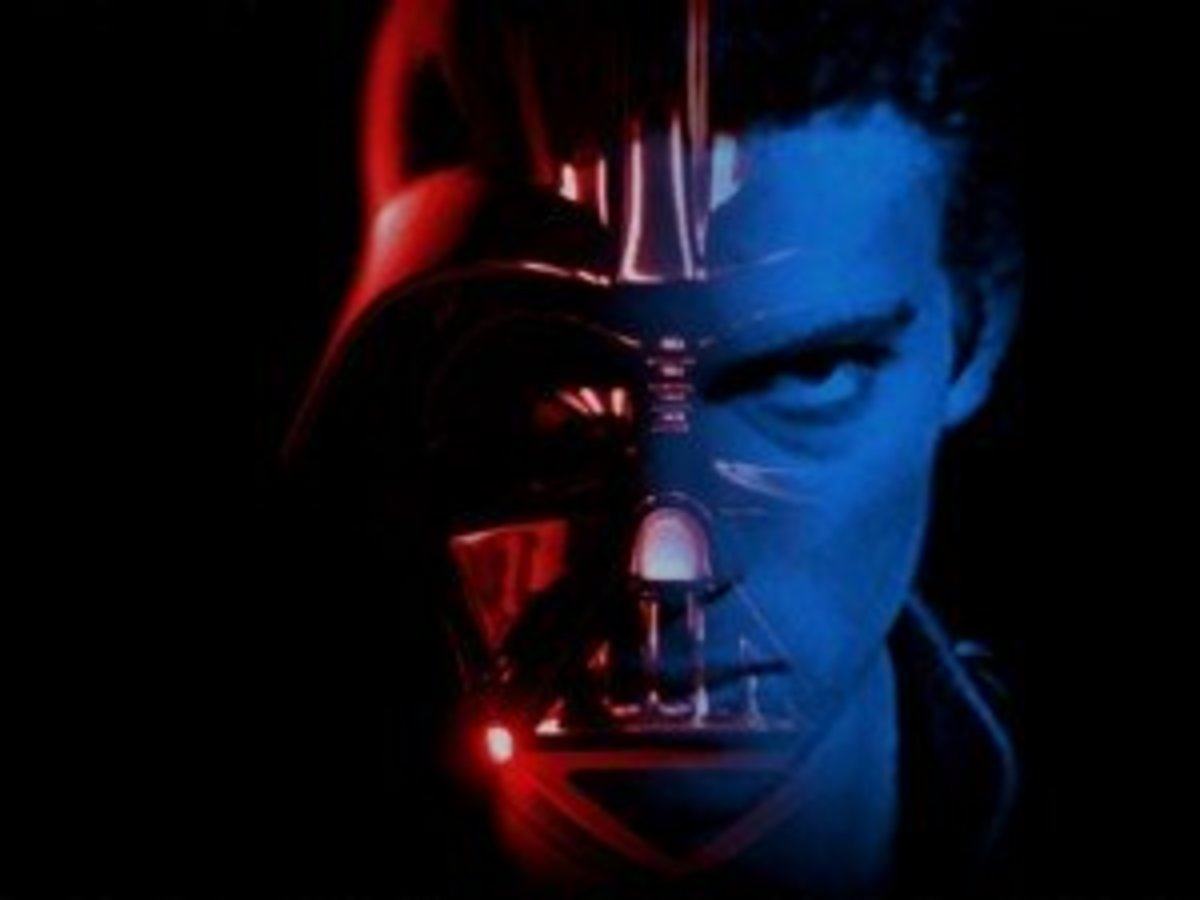 Darth Vader, the reason only 3 of 30 Rebel ships lived through their assault on the first Death Star.