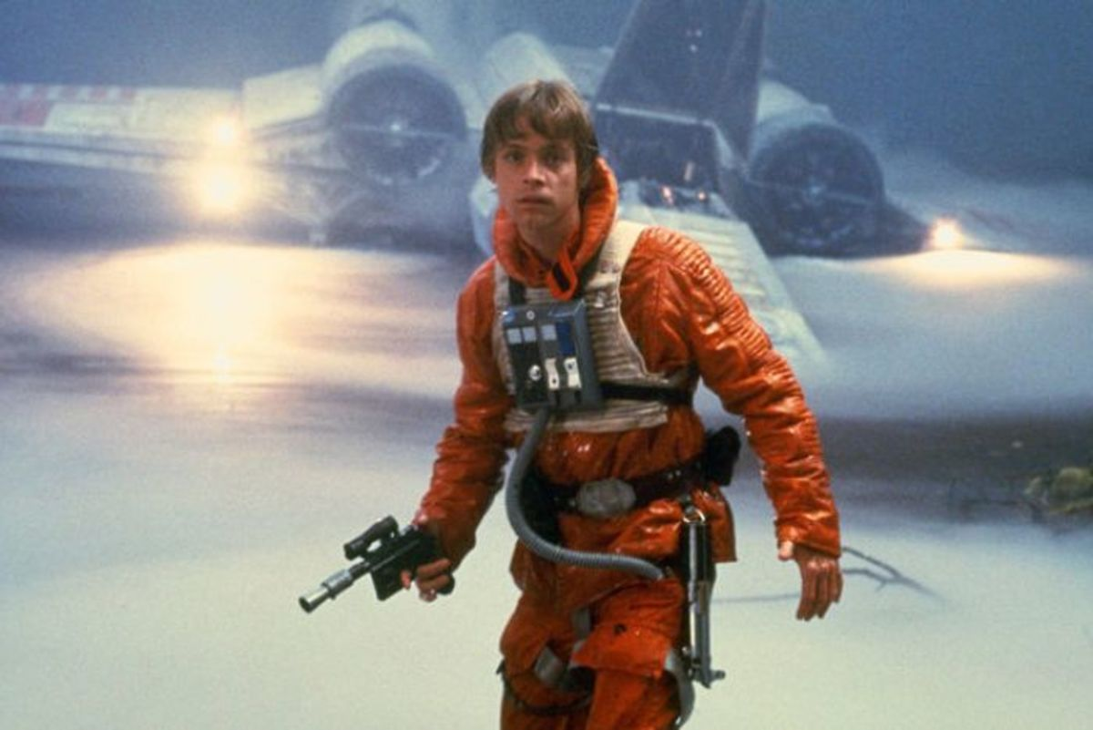Luke's piloting skills almost let us forget he made out with his sister.
