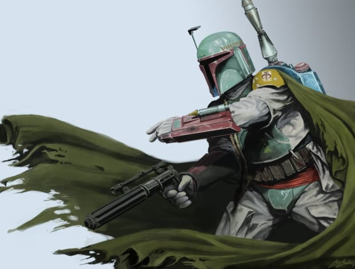 Boba Fett. For a guy with only 3 lines in the original trilogy, he sure has a lot of fan art.