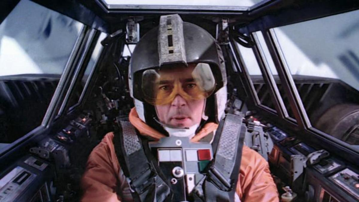 Wedge Antilles: the only man who helped take out both Death Stars.