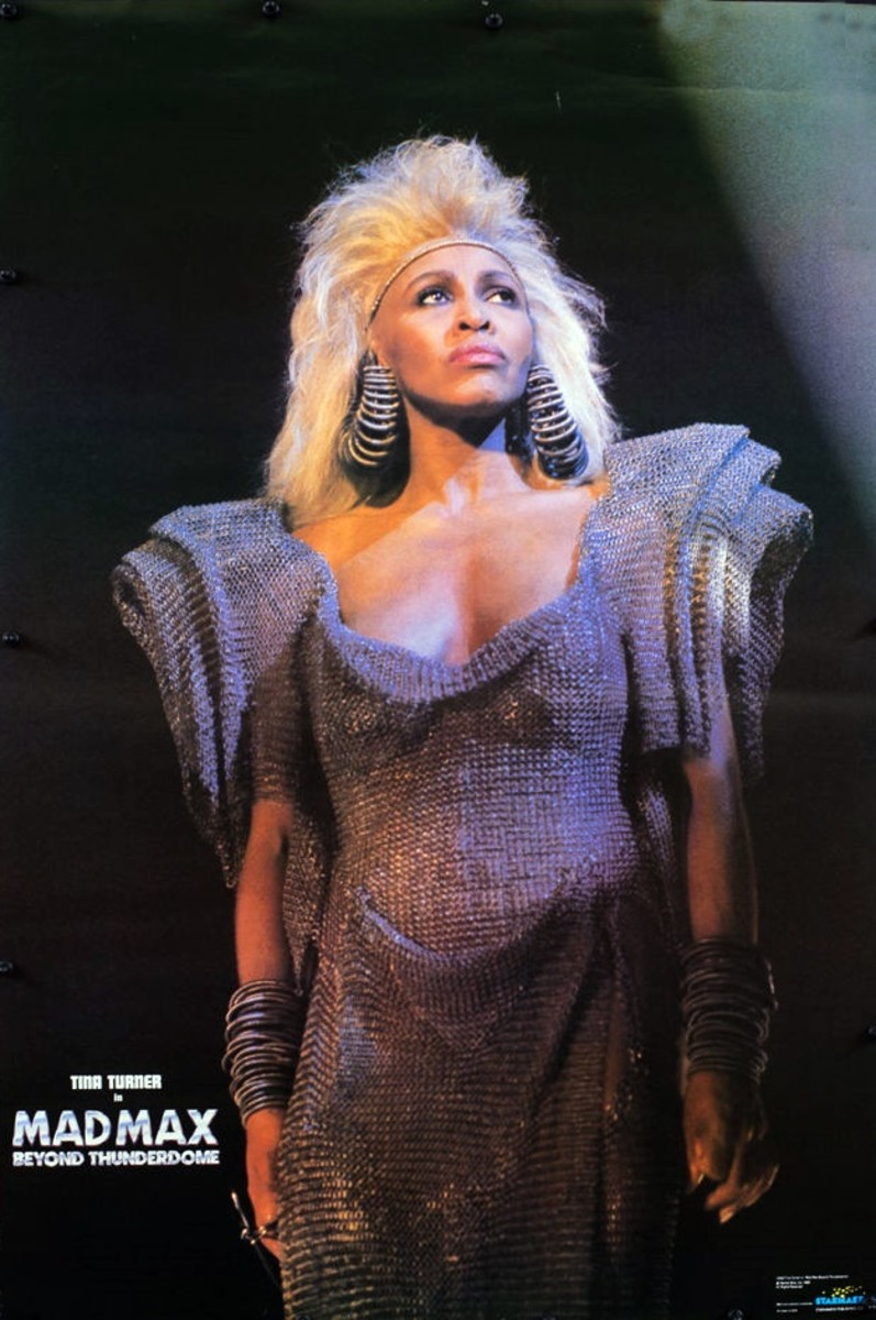 1985 Tina Turner Beyond Thunderdome  A Starmakers poster